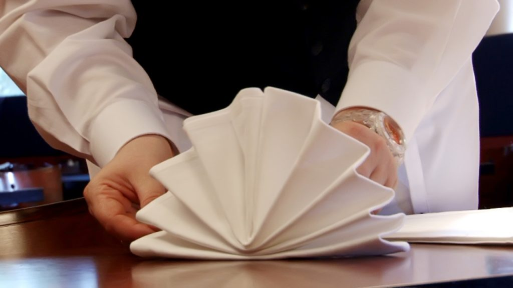 Chapter 2 – napkin folding (download)